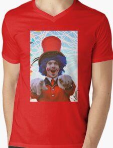 make sure you have fun!  luna park, sydney, australia Mens V-Neck T-Shirt