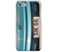SIK66 Classic Car Case Blue White  iPhone Case/Skin
