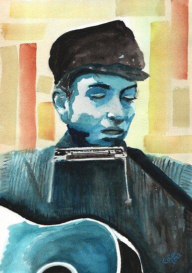 Bob Dylan by Chris-Cox