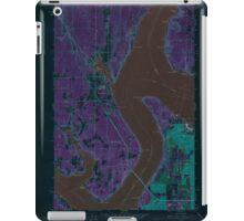 USGS Topo Map Washington State WA Gig Harbor 241268 1959 24000 Inverted iPad Case/Skin