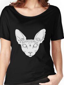 Sphynx Cat Women's Relaxed Fit T-Shirt