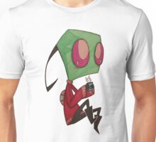 Invader ZIM (sweater+coffee) Unisex T-Shirt