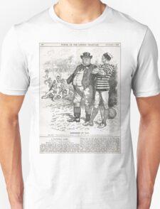 John Bull Brutal Rugby satire Punch 1888 T-Shirt