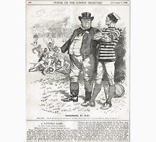 John Bull Brutal Rugby satire Punch 1888 Unisex T-Shirt