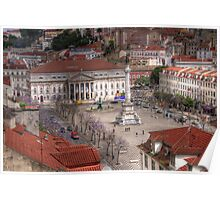 A view inside  Lisbon (Lisboa) Portugal Poster