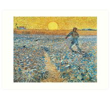 The Sower by Vincent van Gogh Art Print
