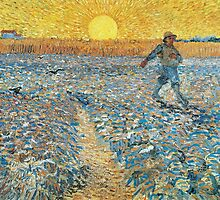 The Sower by Vincent van Gogh by Robert Partridge