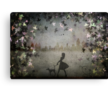 Where the Wild Things are....... Canvas Print