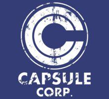 Capsule corp vintage version ( white )