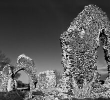 Surlingham Old Church by Geoimages