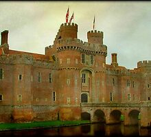 Herstmonceux Castle © by Dawn M. Becker