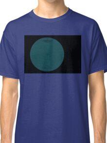 Wire Globe Full Blue Black Classic T-Shirt
