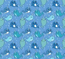 Narwhal Pattern by Zombride