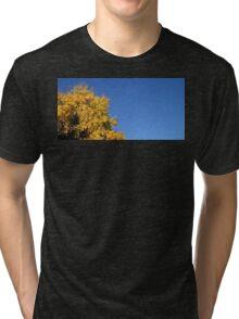 Yellow Autumn Tree Tri-blend T-Shirt