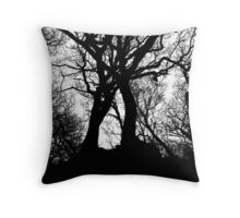 Growing Back Together Throw Pillow