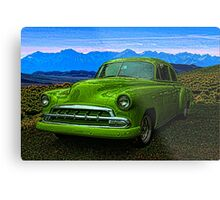 "1951 Chevrolet ""Slime Green"" Metal Print"