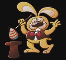 Magician Easter Bunny Kids Tee