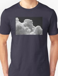 Black And white Sky With Thunderstorm Clouds Unisex T-Shirt