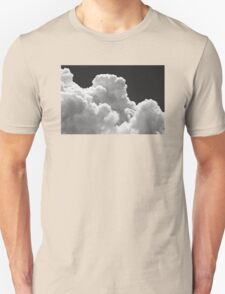 Black And white Sky With Thunderstorm Clouds T-Shirt