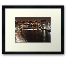 Newcastle & Gateshead Framed Print