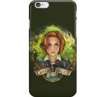 The Skeptic iPhone Case/Skin