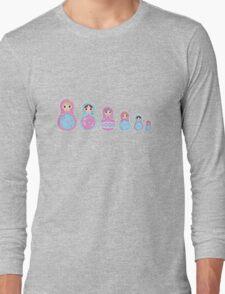 Minibelles - Kawaii Nesting Dolls Long Sleeve T-Shirt