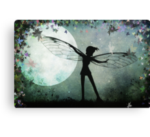 Spreading My Wings Canvas Print