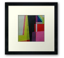 Geometrics#4 Framed Print