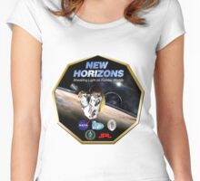 New Horizons Program Logo Women's Fitted Scoop T-Shirt