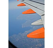 Flying Over The UK.. Photographic Print