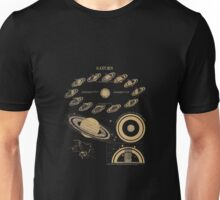 Smith's Illustrated Astronomy - Saturn - Page 28 Unisex T-Shirt