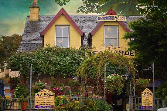 The Tea Garden Cafe -  Mallaig, Scotland by Yannik Hay