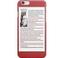 The Good Wife Guide iPhone Case/Skin