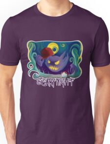 Scary Night with Haunter Unisex T-Shirt