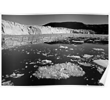 Greenland - Disko Bay icebergs and floes Poster