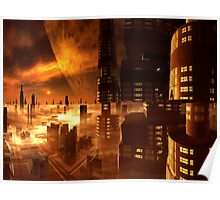 View from Estorian Plaza Hotel, Ganymede Poster
