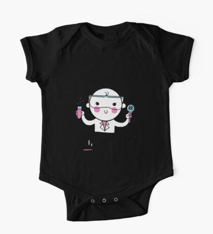 Little Scientist One Piece - Short Sleeve