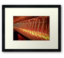Smithwicks Pint Glasses Framed Print