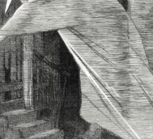 Jack the Ripper Punch Cartoon Nemesis of Neglect 1888 Sticker