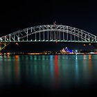 Sydney Opera House &amp; Bridge | Autism Awareness 2012 by Bill Fonseca