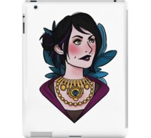 Morrigan - feathers (covered) iPad Case/Skin