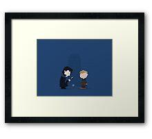 Baker Street Boys Framed Print