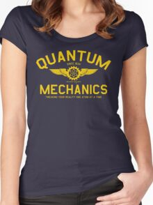 QUANTUM MECHANICS Women's Fitted Scoop T-Shirt