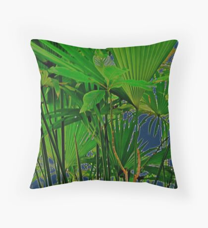 Brasil to New York   2 of 6...In the Shadows Throw Pillow