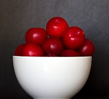 Bowl of Plums by Jessica Annalee