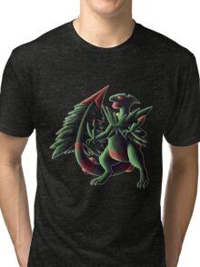 Mega Sceptile Tri-blend T-Shirt