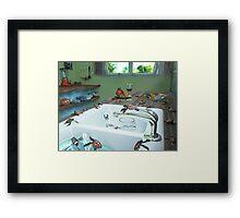 Ocean Invasion #10: The Loggerheads Got In! Framed Print