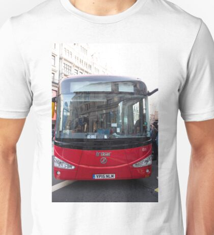 London Bus Irizar 12E auto electric bus in Regent Street London Unisex T-Shirt