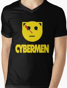 CYBERWATCHMEN Mens V-Neck T-Shirt