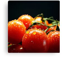 Fresh and red Canvas Print